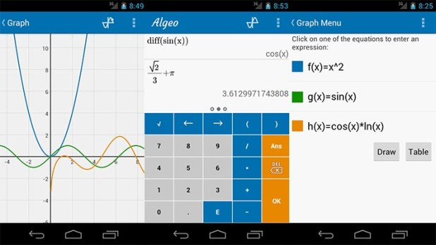 Algeo-Graphing-Calculator