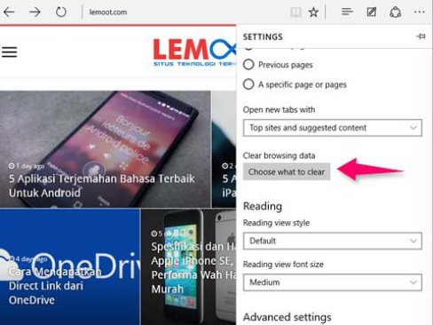 Reset Microsoft Edge Browser 2 - lemoot