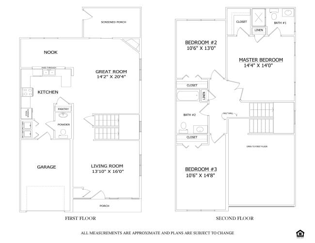 Floor plan the madison avonbridge lenape builders for Share builders plan