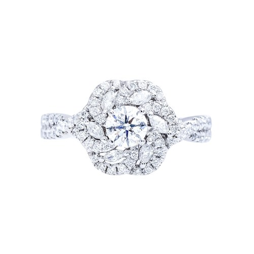Medium Of Vera Wang Engagement Ring