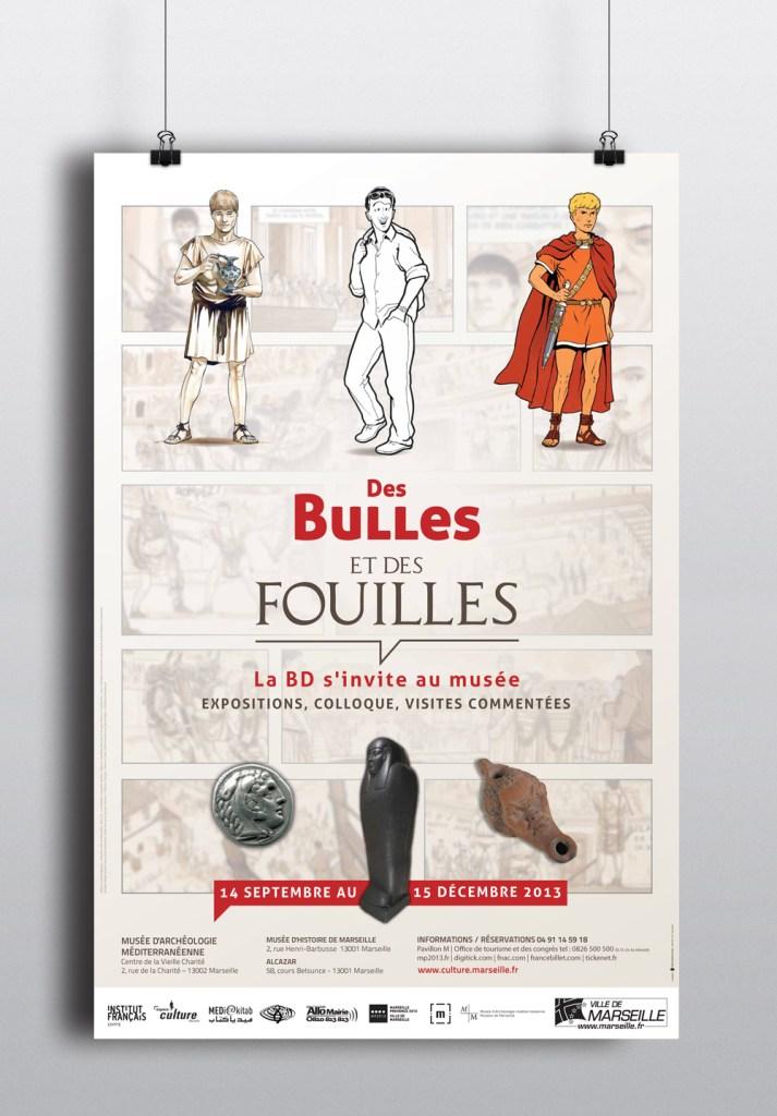 Des Bulles et des Fouilles - Musée d'Archéologie Méditerranéenne - Vieille Charité