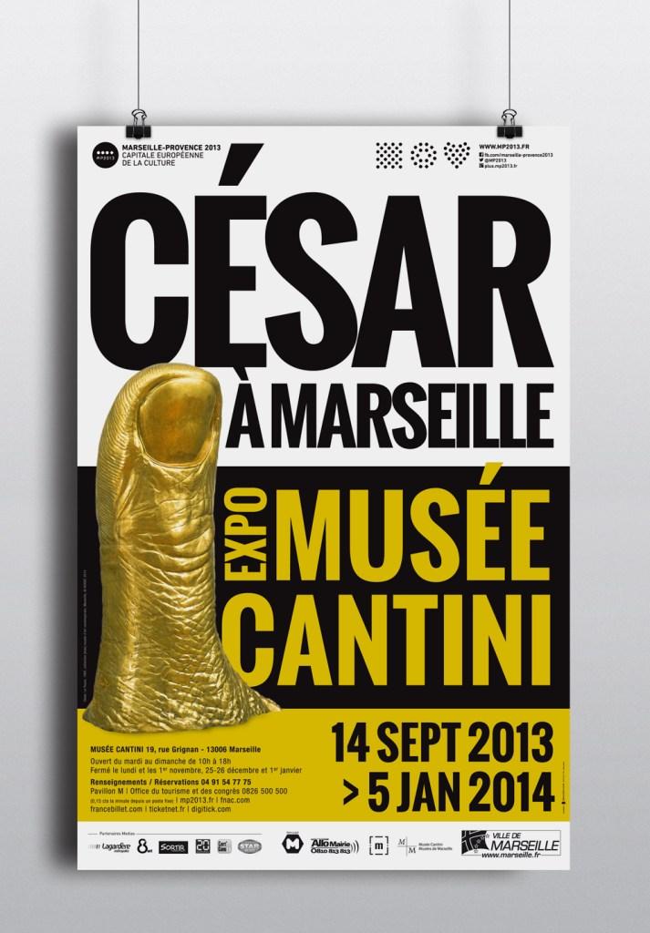 César à Marseille - Musée Cantini