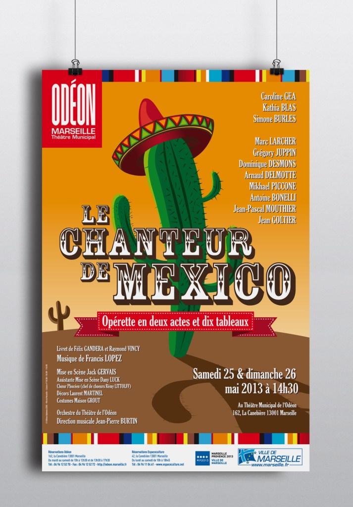 Le Chanteur de Mexico - L'Odéon