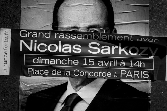 French Presidential Election Posters 2012