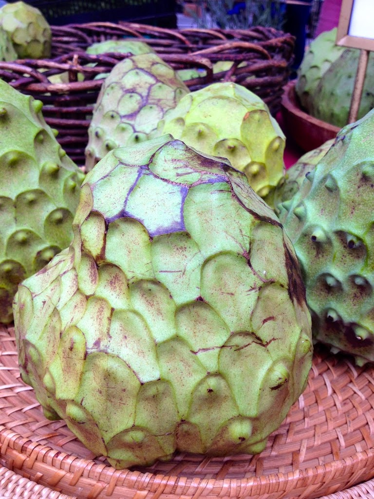 Have you ever had the pleasure of sampling a cherimoya?