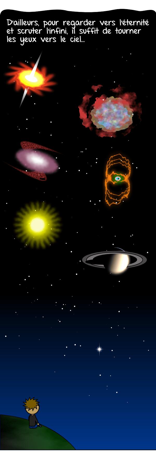 L,espace, le cosmos, l'infini, l'éternité