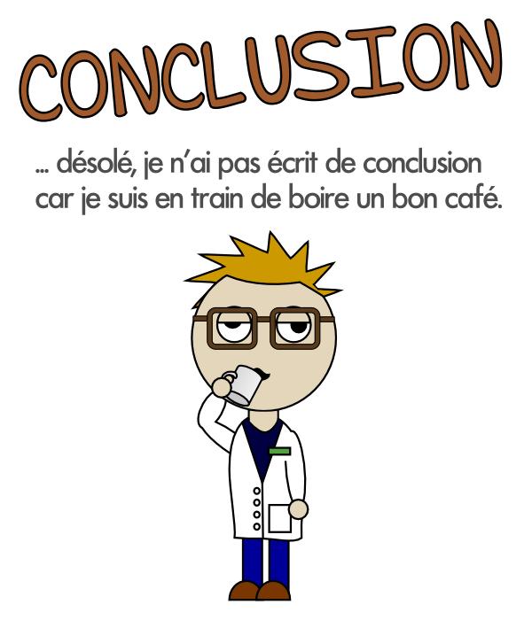 Ma conclusion sur la caféine