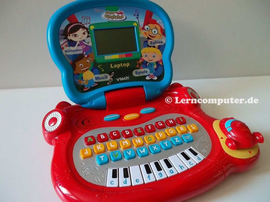 vtech kleine einsteins laptop lerncomputer test lerncomputer g nstig kaufen. Black Bedroom Furniture Sets. Home Design Ideas