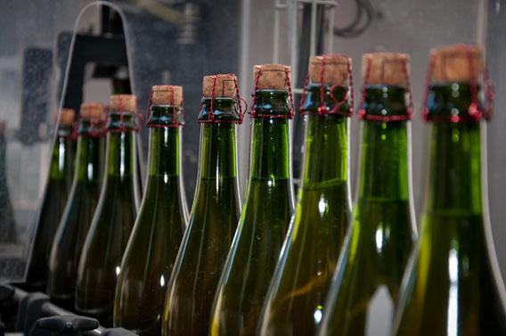 bouteilles cidre les bruyères carré moyaux calvados normandie