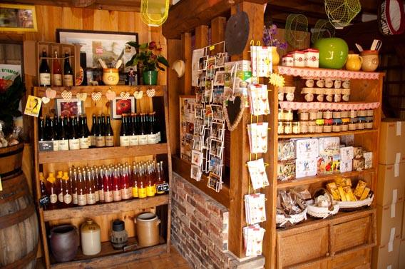 intérieur boutique bruyères carré moyaux calvados normandie