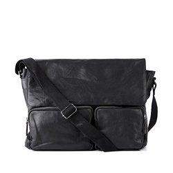 FEYNSINN-sac-de-messenger-LAURANCE-grand-sac--bandoulire-appropri-pour-14-iPad-besace-noir-en-cuir-vritable-0