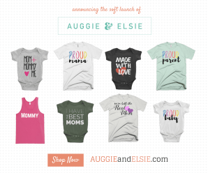 Announcing the soft launch of AuggieandElsie dot com