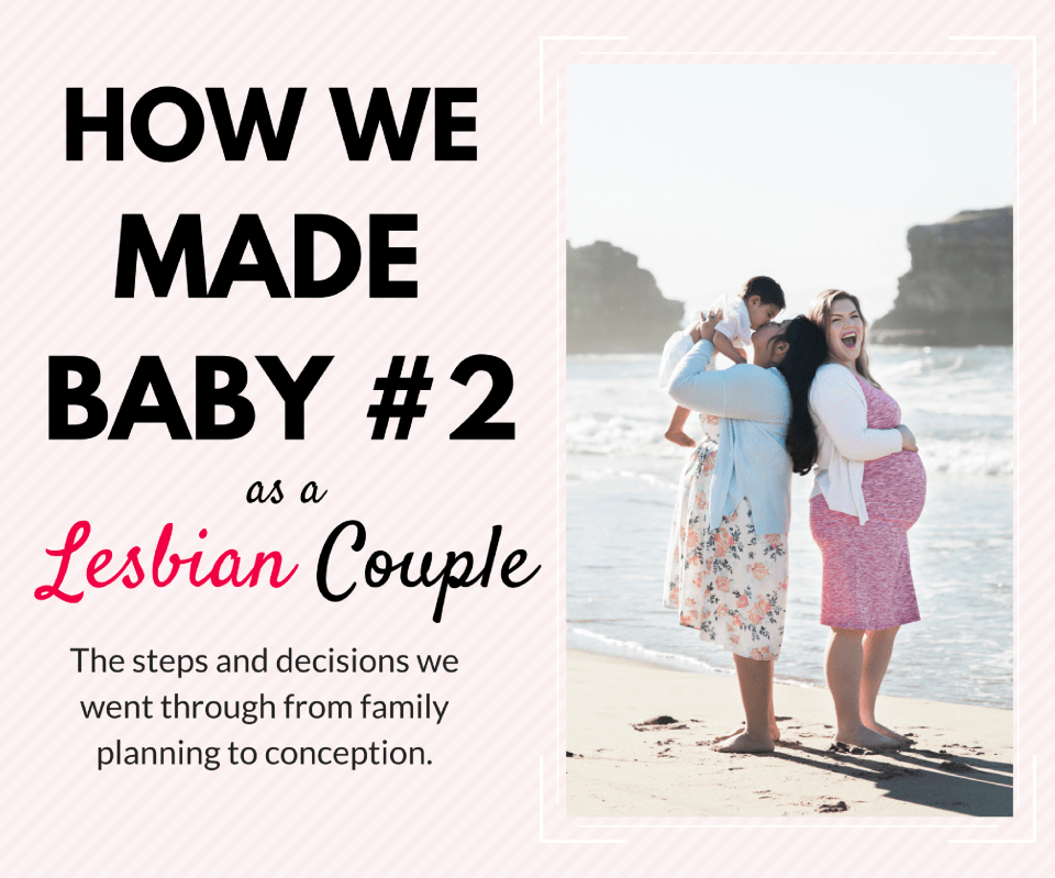 How we made our second baby as a lesbian couple