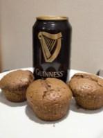 cupcake guiness biere brune