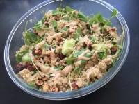 Quinoa sauce aux amandes