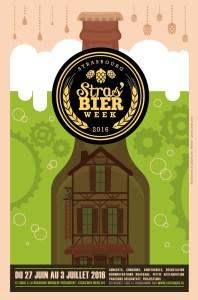 Stras'bier week poster