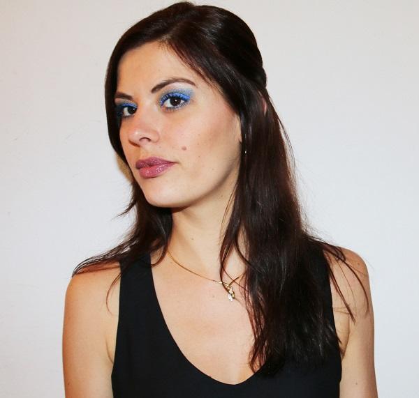Make-up argenté pour le MSC !