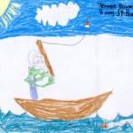 Jeanne Bourassa, 8 ans, SAint-Bonaventure