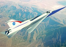 Supersonic plane © NASA FB