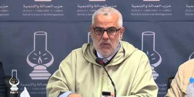 Les propos de Ramid sont démesurés, selon Benkirane — PJD