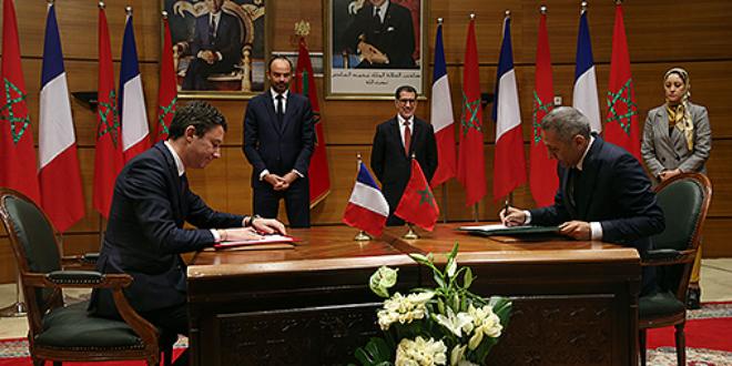 Voici les accords signés entre le Maroc et la France (VIDEO)