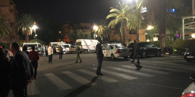 6 arrestations à Casa — Tirs café Marrakech