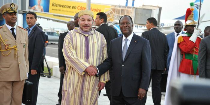 Voici la délégation qui accompagne Mohammed VI en Côte d'Ivoire