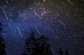 Pluie d'étoiles filantes dans le monde
