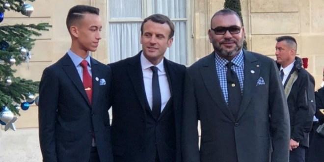 Le roi Mohammed VI présente ses condoléances à Emmanuel Macron