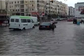 Casablanca sous les eaux après la journée de lundi (VIDEO)