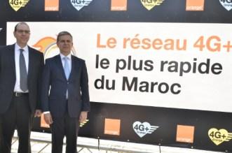VIDEO – Orange veut proposer le réseau 4G+ «le plus rapide» au Maroc