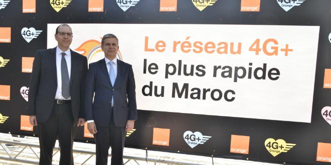 Orange veut proposer le réseau 4G+ «le plus rapide» au Maroc