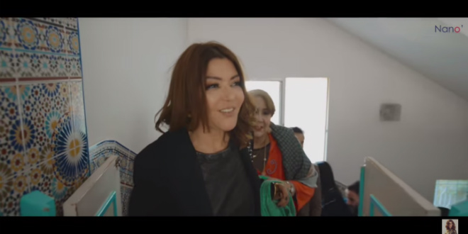 Samira Said a rendu visite à un orphelinat à Tanger (VIDEO)