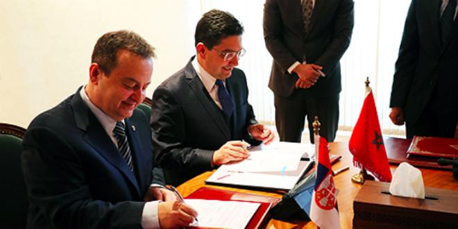 Le Maroc et la Serbie renforcent leur coopération