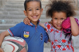 Superbe expo-photos itinérante sur le rugby solidaire