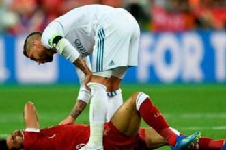 Ce qu'a dit Sergio Ramos à Mohamed Salah après la blessure