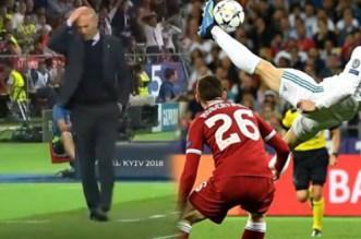 La réaction de Zidane après le magnifique but de Bale (VIDEO)