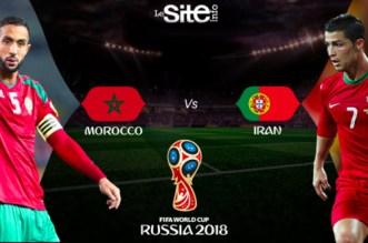 Maroc Vs Portugal: à quelle heure et sur quelle chaîne? (Coupe du monde 2018)