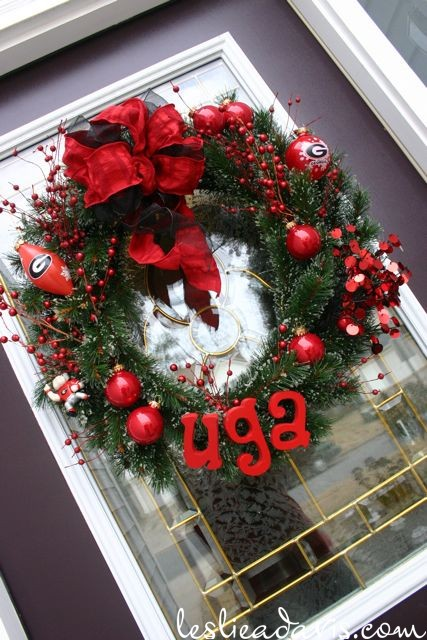 2009 UGA Christmas Wreath