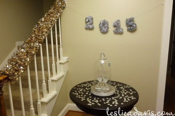 New Year's Eve Foyer Decorations
