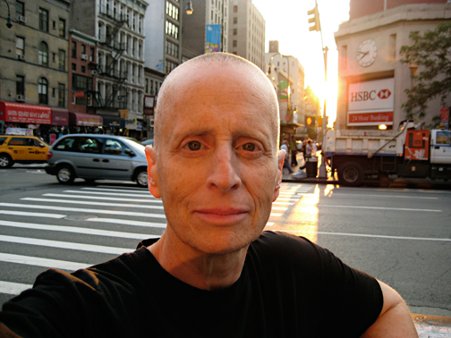 "Leslie Feinberg ""Self Portrait in Setting Sun"" 2011"