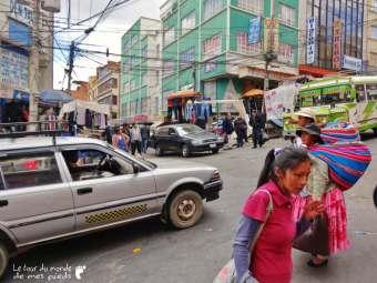 rue circulation la paz