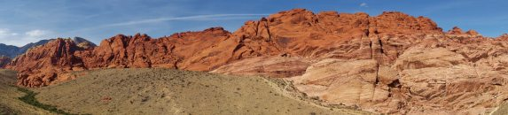 panorama red rock canyon