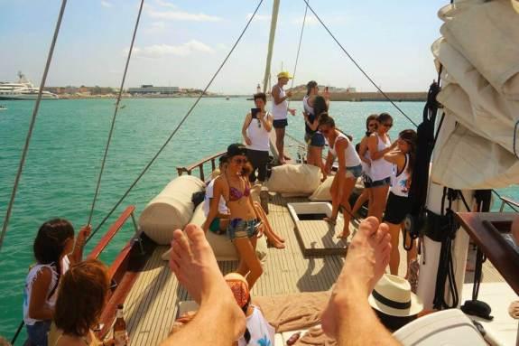 Ibiza boat trip