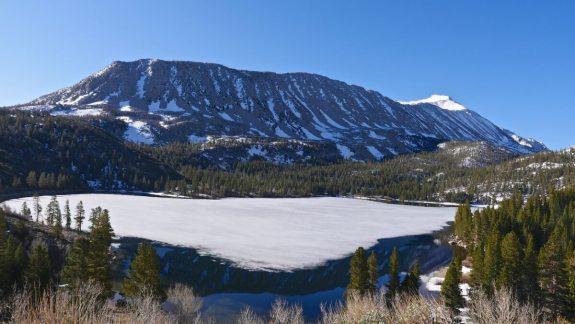 Rock Creek Lake gelé