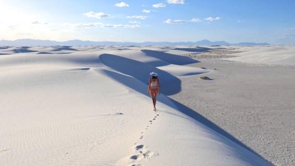 dunes White Sands National Monument