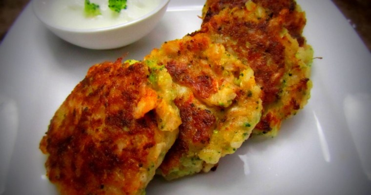 BROWN RICE AND BROCCOLI PATTIES!