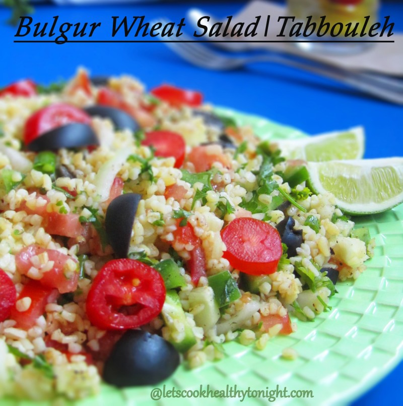 BULGUR WHEAT SALAD|TABBOULEH