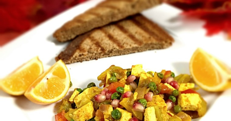 Curried Tofu With Vegetables