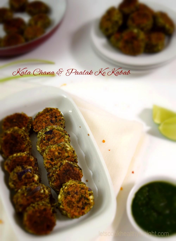 Kala Chana & Paalak Kabab